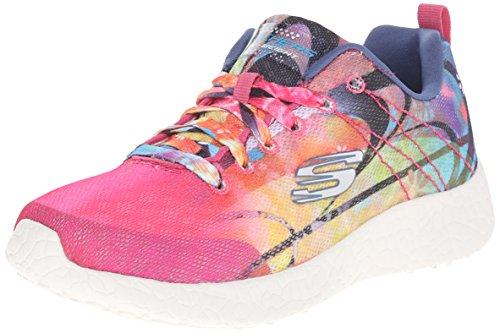 Skechers Sport Dames Burst Fashion Sneaker Multi Regenboog