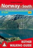 Norway South: The 50 finest valley and mountain walks - Rother Walking Guide