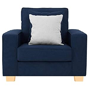Furny Apollo One Seater Chair (Blue)