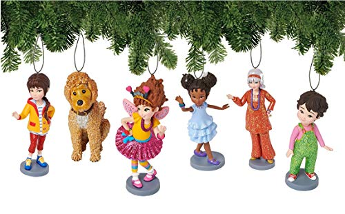 - Disney Fancy Nancy Deluxe Christmas Tree Ornament Set Holiday Decorations