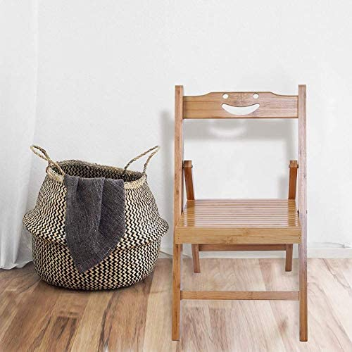 DJY-JY Portable Bamboo Wooden Folding Chair, Fishing Chair Folding Chair Leisure Office Chair for Indoor Outdoor Home Household Kitchen