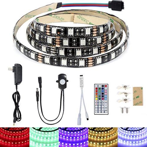 topled light led bed light kit rgb pir motion activated led strip sensor night l. Black Bedroom Furniture Sets. Home Design Ideas