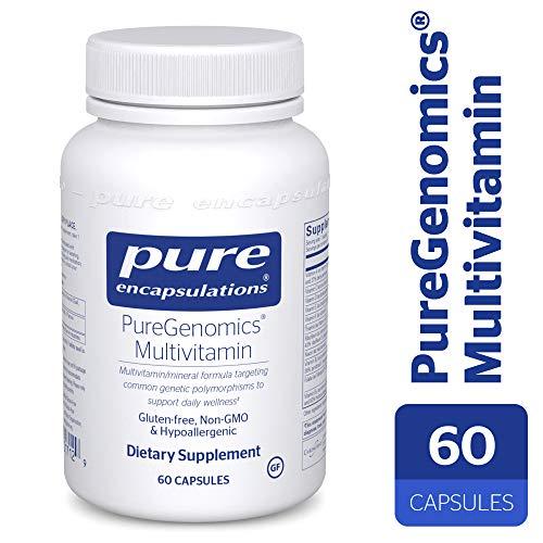 Pure Encapsulations - PureGenomics Multivitamin - Hypoallergenic Multivitamin/Mineral Complex - 60 Capsules by Pure Encapsulations (Image #9)