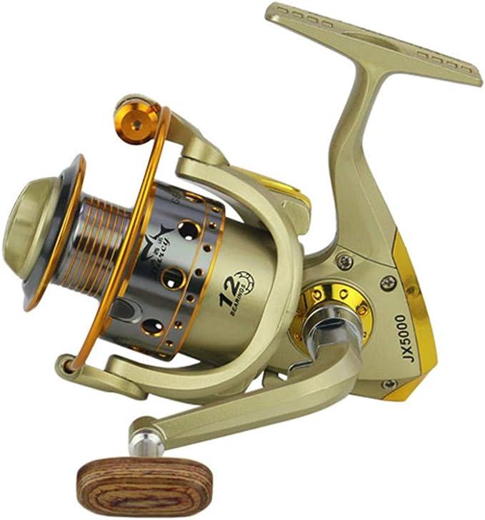HoSayLike Ruedas Fish Spinning Reel 5.5: 1Carretilhas Pescaria ...