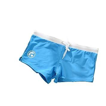 yalanshop Bóxer Cómodo Calzoncillos para Hombre Ropa Interior De Fibra De Bambú Natación Pantalones Pantalones De