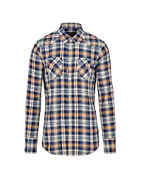 Dsquared2 Men's S74dm0110s48455001f Orange Cotton Shirt
