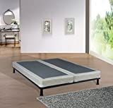 Spring Solution  Queen Size 5''Fully Assembled Split Box Spring for Mattress, Hollywood Collection