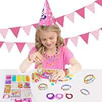 Liberty Imports ABC Beads /& Charms Friendship Bracelet Jewelry Making Kit Over 1000 Beads FBA/_11040