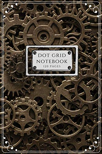 Dot Grid Notebook: Steampunk 3
