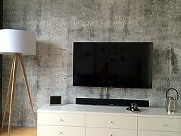 e020401 8 foto tapete vlies wandbild betonwand steinoptik. Black Bedroom Furniture Sets. Home Design Ideas