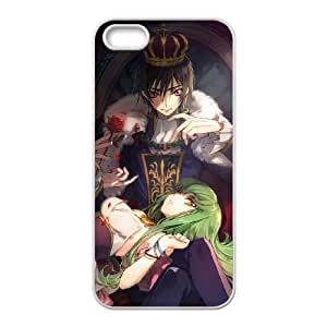 Code Geass iPhone 4 4s Cell Phone Case White Exquisite designs Phone Case KM5H8641