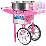 cotton maker - Olde Midway Commercial Quality Cotton Candy Machine Cart and Electric Candy Floss Maker - SPIN 2000