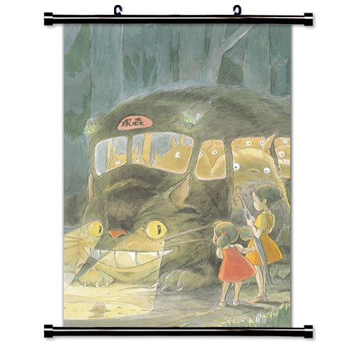 My Neighbor Totoro Anime Fabric Wall Scroll Poster  Inches M