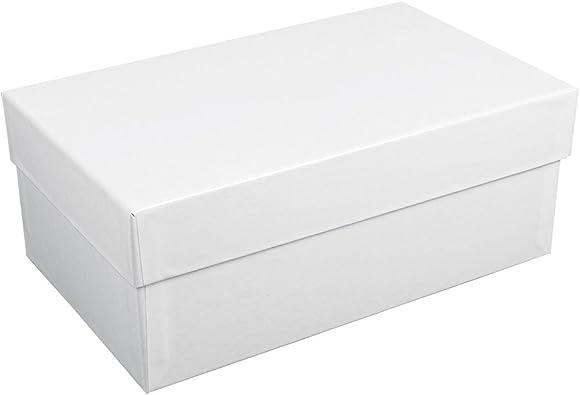 Jouailla-Caja de cartón, color blanco: Amazon.es: Joyería