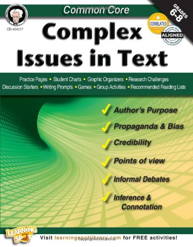 Amazon.com: Common Core: Complex Issues in Text (9781622234660 ...