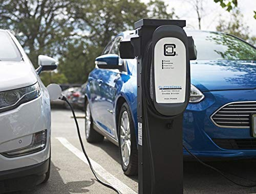 ClipperCreek HCS-40, 240V, 32A, EV Charging Station, 25 ft Cable, Safety Certified, Made in America by ClipperCreek (Image #4)
