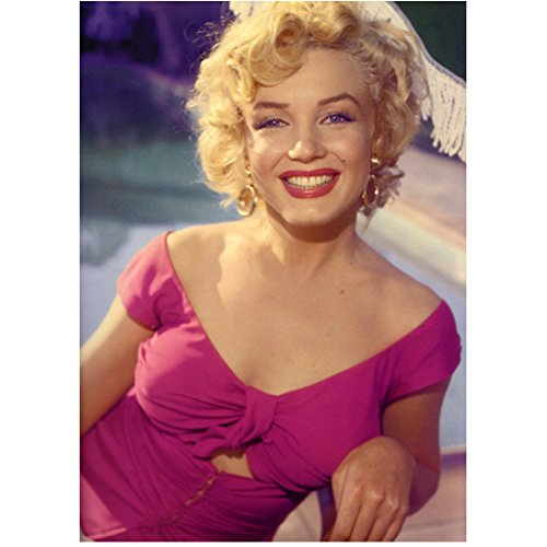 Marilyn Monroe 8x10 Photo Some Like It Hot The Seven Year Itch Gentlemen Prefer Blondes Fuschia Off the Shoulder...