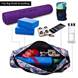 RoryTory Yoga Mat Bag w/Adjustable Strap, Water