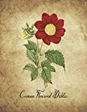 Download Crimson Flowered Dahlia: Vintage Floral Notebook With College Ruled Lined Pages for Writing and Journaling (Beautiful Flowers & Fruits Note Books) in PDF ePUB Free Online