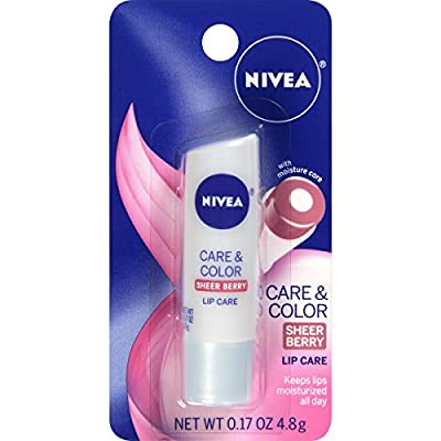 Nivea Lip Care A Kiss of Care and Color Tinted Lip Balm