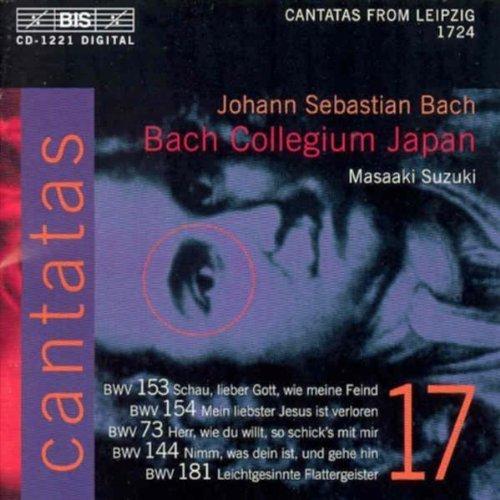 Bach: Cantatas, Vol 17 (BWV 153, 154, 73, 144, 181) /Bach Collegium Japan � Suzuki by Johann Sebastian Bach, Bach Collegium Japan, Gerd T�rk, Robin Blaze, Peter Kooij [Music - Ti Blaze
