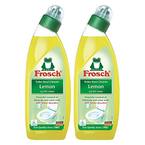Frosch Lemon Toilet Bowl Cleaner, 750 ml (4) by Frosch