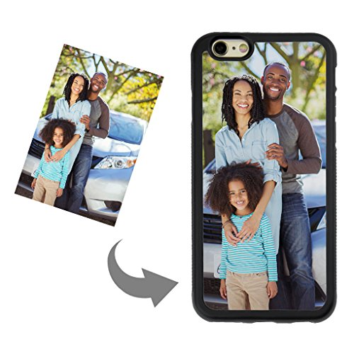 Personalized Custom Phone Case for iPhone 6/6s, DIY Create Your Own Photo Picture Design Custom Case-TPU Shock Absorbing PC Protector Carrying Case, Nice Keepsake Birthday Xmas Present