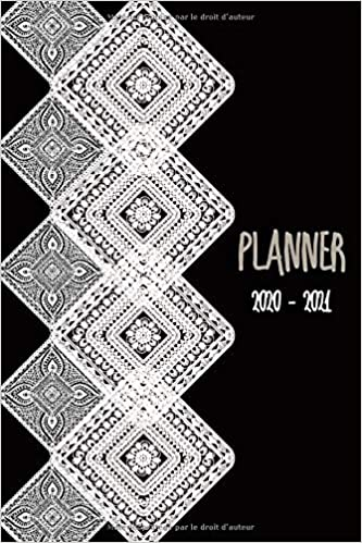 Agenda Planner 2020   2021: Planificateurs Semainier Agenda