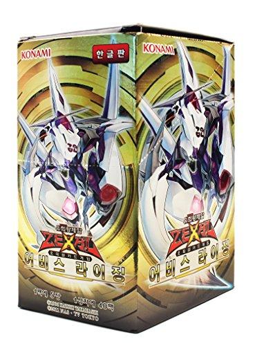 Yu-Gi-Oh! Konami Yugioh Card ZEXAL Booster Pack Box OCG 200 Cards Abyss Rising Korea Version