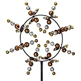 Regal Art & Gift Vortex Kinetic 33 inches x 12 inches x 91 inches Metal Stake - Cosmo Lawn and Garden Decor