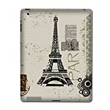 Apple The new iPad (3rd generation, ipad 3) Skin Sticker Art Decal - Paris Design