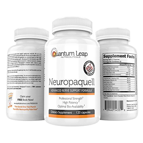 Clinical Strength Neuropathy Pain Relief. Advanced Nerve Support Formula. 120 - Nerve Blend