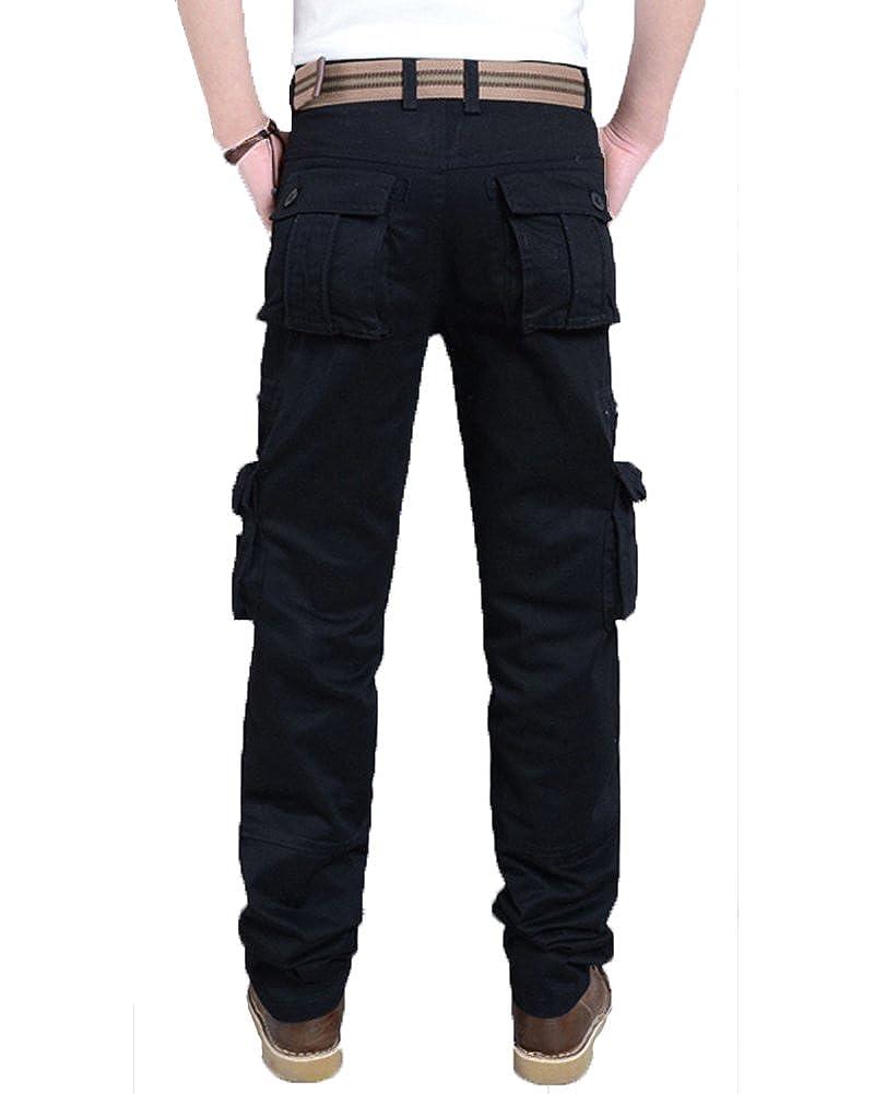 anyu pantalone uomo cargo militare molla casual pantaloni da
