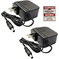 wennow 2 Pack 12V 2A 12 Volt DC 2 Amp Surveillance Camera Power Supply For Lorex