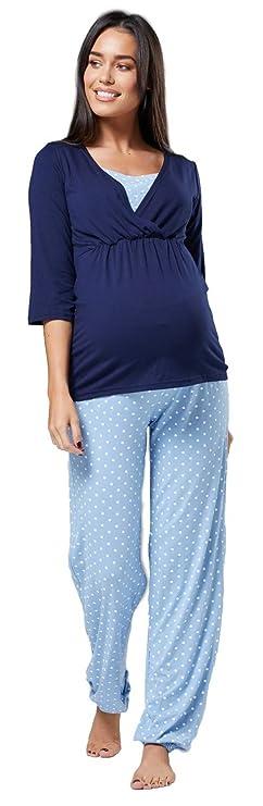 Pijama premama largo