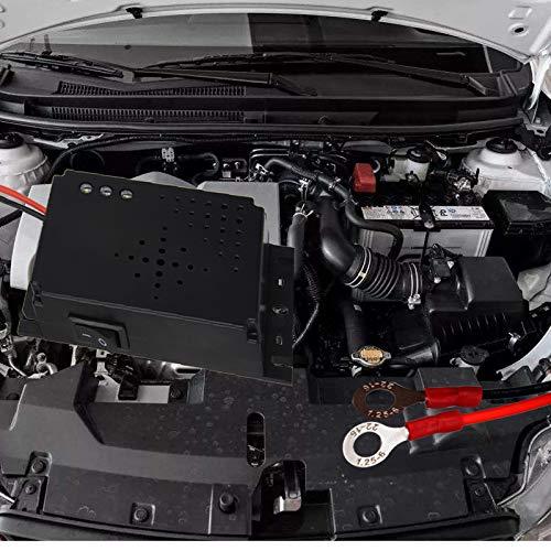 iweed Marderschreck Auto Marderabwehr Marderschutz Ultraschall LED Blitzlichtfunktion Schutz f/ür Auto Zum Einsatz im Motorraum