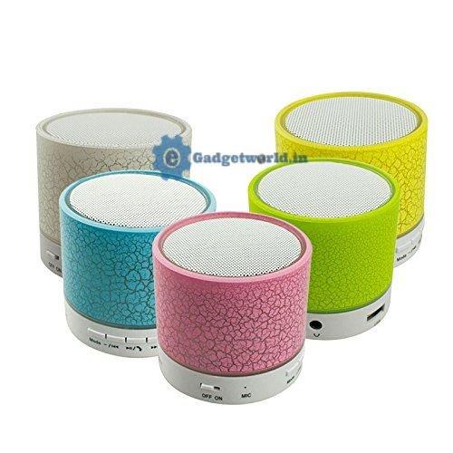 Terabyte Wireless Mini Bluetooth Speaker  ndash; Portable +Wireless +Bluetooth+ USB+SD Card+ Stereo+ Mic + Call + Light