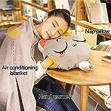 KOSBON 4 in 1 Cute Cartoon Plush Stuffed Animal