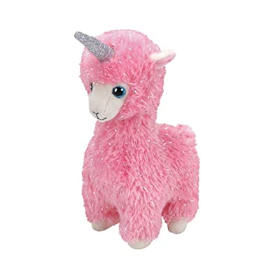 Ty - Beanie Babies - Lana Pink Llama With Horn /toys: Toys & Games