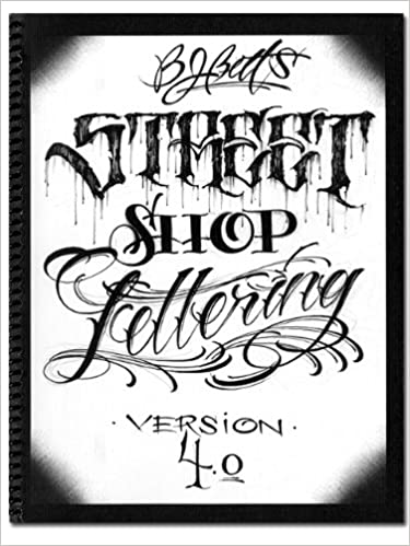 Tattoo Lettering Book