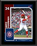 """Bryce Harper Washington Nationals 10.5"""" X 13"""" Sublimated Player Plaque - MLB Player Plaques and Collages"""