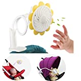 baby stroller fan - benchmart rechargeable portable clip baby stroller cooling fan with flexible