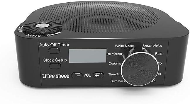 Máquina De Ruido Instrumento De Sueño con 10 Sonidos Únicos ...