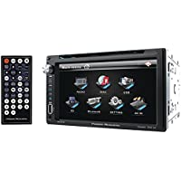 POWER ACOUSTIK PD-651B 6.5 Double-DIN In-Dash LCD Touchscreen DVD Receiver (With Bluetooth(R))