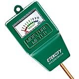 Etekcity Indoor/Outdoor Soil Moisture Sensor Meter, Plant Care Hygrometer (Green)