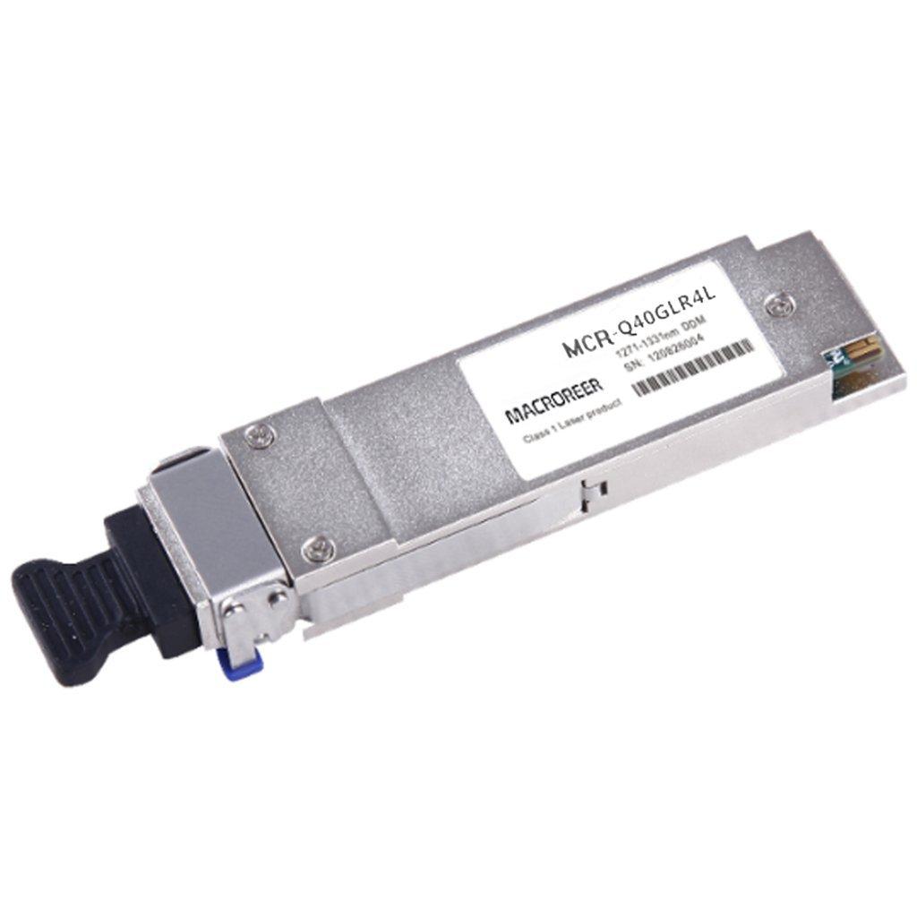 Macroreer for Cisco QSFP-40G-LR4 40GBASE-LR4 QSFP+ Module Transceiver 1310nm 10km by Macroreer