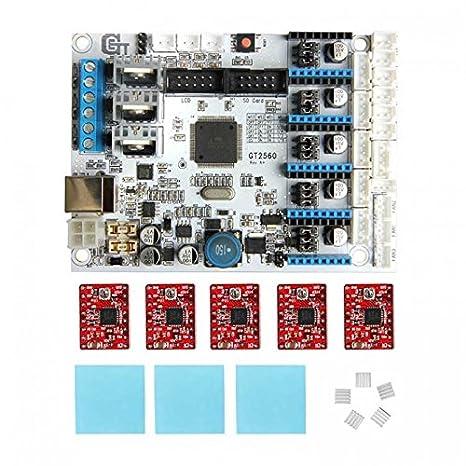 GEEETECH GT2560 3D printer control board package: Amazon.es ...