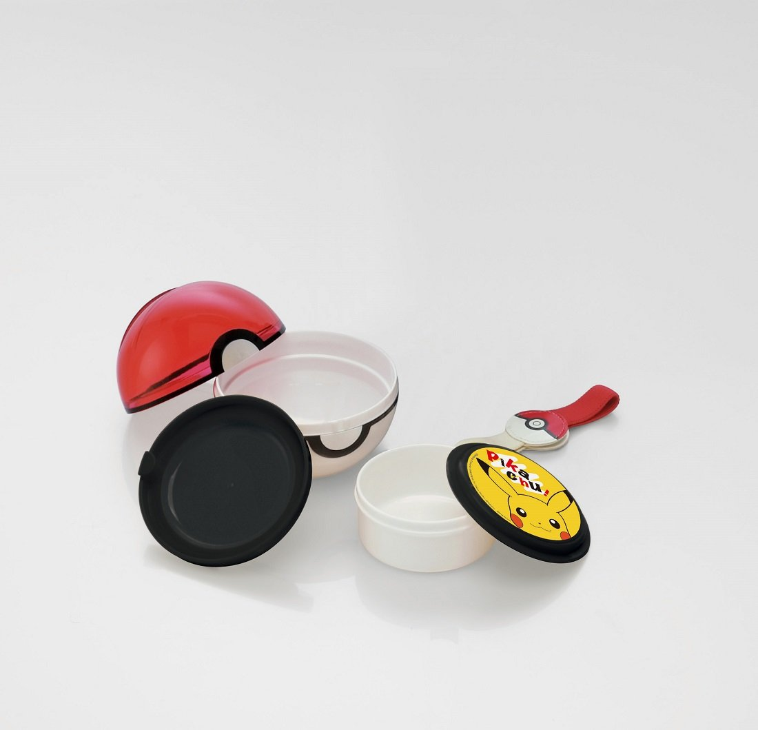 tipo pok/é bola LMS3. Caja para el almuerzo Skater Pokemon