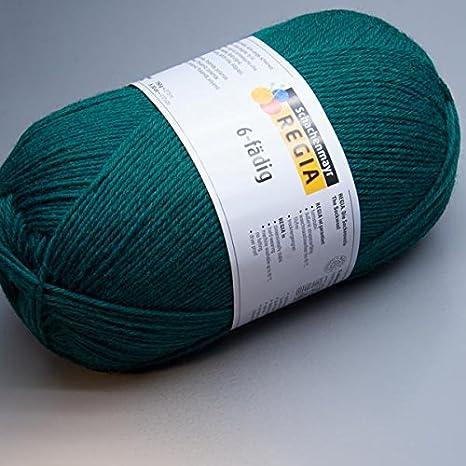 150 gramos Lana para calcetines Regia 6 hilos 02749 Color Azul: Amazon.es: Juguetes y juegos