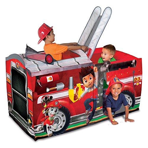 Playhut Paw Patrol Marshall Fire Truck - Firetruck Tent For Kids
